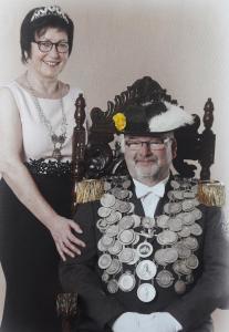 S.M. Charles-Friedrich I. (Jacobs)& Königin Karin