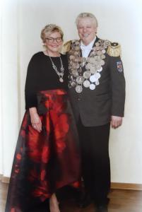 S.M. Bernd II. (Stroink) & Königin Birgit